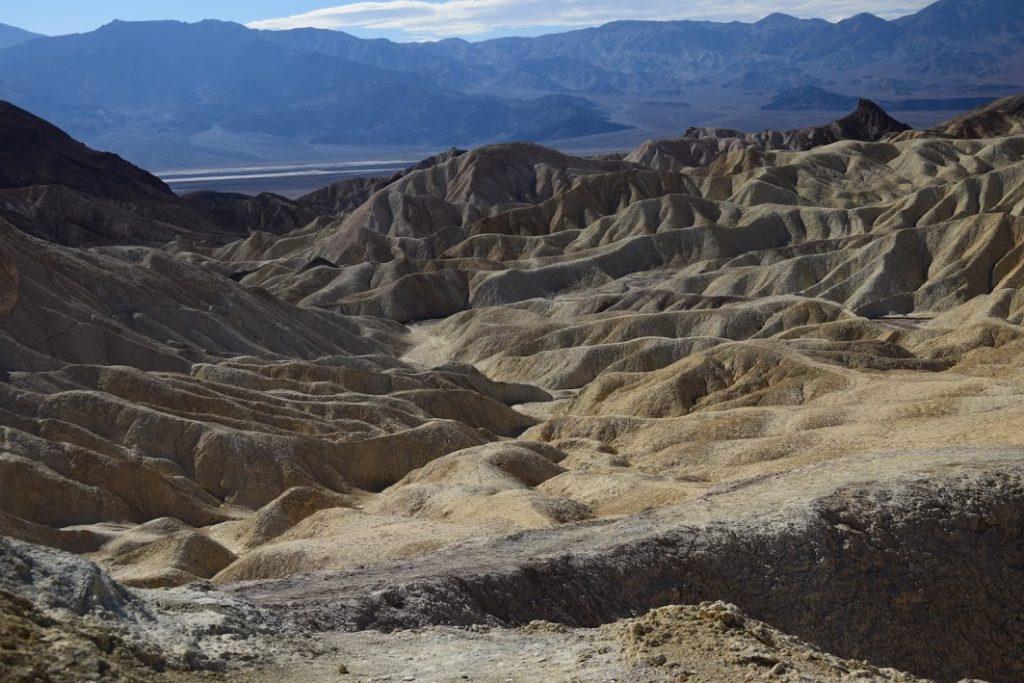Badlands Death Valley