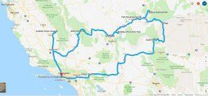 trasa po parkach narodowych USA