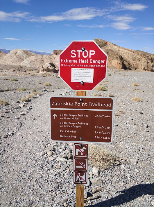 Zabirskie Point signs