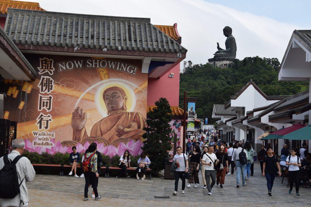 posąg Buddy z Lantau